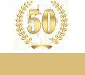 50 Jahre Emblem
